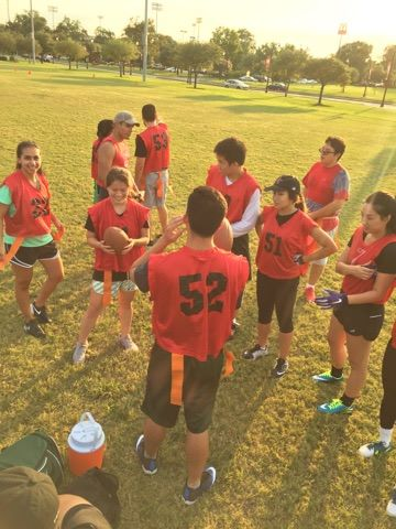 POPS Flag Football vs HOSA