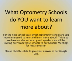 What Optometry Schools Do You Want To Learn